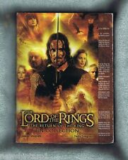 #T38.  2003  LORD OF THE RINGS  PIN COLLECTION & ALBUM