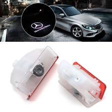 2x Türlicht Einstiegsbeleuchtung LED für Mercedes-Benz GLK X204 Logo Projektor