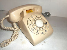 Rare Vintage Bell Telephone Northern Electric White Dial Phone Northern Electric