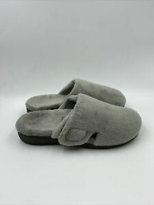 Vionic Womens Gemma Light Grey Slippers Size 8 M , 604