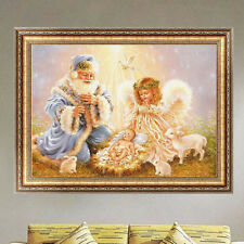 DIY 5D Father Angel Diamond Painting Christmas Embroidery Cross Stitch Kit Decor