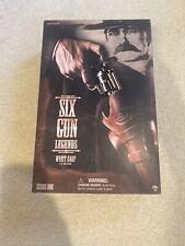"New listing Six Gun Legends, Wyatt Earp, 12 "" Side show toy, Mib Series 1"