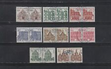 Gestempelte Briefmarken aus Berlin (1960-1969) als Satz