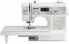 Brother Xr3340 Sewing Quilting Machine+195 Stitches+Extension Table+10 Feet+Font