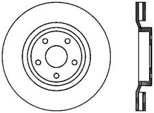 Disc Brake Rotor-SRT8 Front Left Stoptech fits 2006 Jeep Grand Cherokee