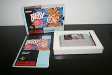 Nintendo Super Snes Bubsy in Claws Encounters of the Furred Kind MINT Complete