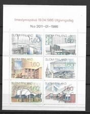 1986 MNH Finland booklet Michel MH17
