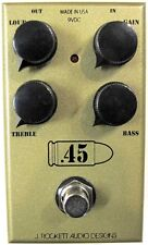 Used J. Rockett Audio Designs .45 Caliber Overdrive Guitar Effects Pedal!