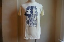 DSQUARED² COOL DISTRESSED STAIN YELLOW RUFF TUCKER MUSCLE PRINT T SHIRT S XXL IT