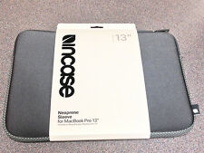 "NEW Incase Designs Corp 13"" Neoprene Sleeve GREY CL57429"