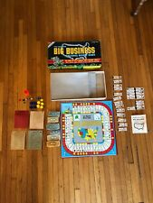 Famous Big Business National Money Board Game Deluxe Edition 1959 Transogram