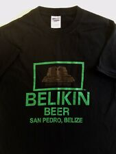 Belikin Beer San Pedro You Better Belize It Central America T-shirt Small (P3)