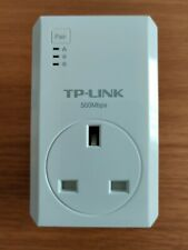 TP-Link AV500 2-Port Powerline Adapter with AC Passthrough TL-PA4020P