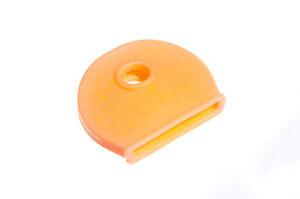 Nuovo Arancione Chiave Coperchio Id Etichetta Utilizzato Per Colore Codice Pacco