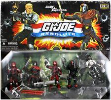 GI JOE v Cobra RESOLUTE 3.75 inch Action Figure Collector 5 Pack COBRA VERY RARE