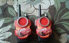 Disney Pixar Cars 2 Pit Stop Walkie Talkie Radio Set LIGHTNING MCQUEEN