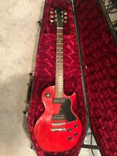 Paul Stanley Signed 1998 Gibson Les Paul Junior Special Red