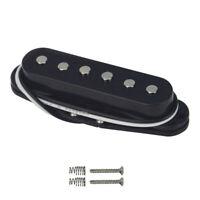 New Black Electric Guitar Single Coil Pickup Bridge Pickup For FD Strat Guitar