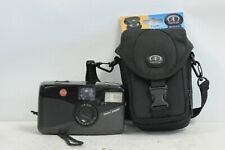 Leica Mini  Zoom Point & Shoot Film Camera with New Tamrac Pouch & Strap