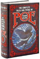 The Complete Tales and Poems of Edgar Allan Poe Stories Works Leather Bound Book