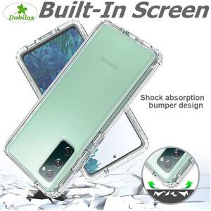 CASE For Samsung S20 FE S10 Shockproof Hybrid Bumper Full Body Heavy Duty Cover