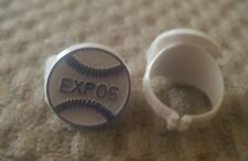 VINTAGE 1970S MONTREAL EXPOS   BASEBALL GUMBALL PLASTIC KIDS RING.#2