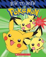 HOW TO DRAW POKEMON - WEST, TRACEY - NEW PAPERBACK BOOK