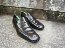 TOD'S LOAFERS – BROWN CALF – UK 7 – EXCELLENT CONDITION