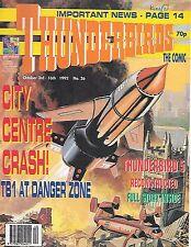 Thunderbirds #26 (3rd October 1992) TV21 full colour reprint strips