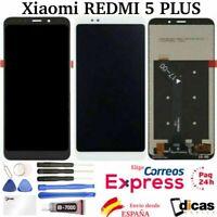 Pantalla Completa LCD Original Tactil Xiaomi Redmi 5 Plus Negra Blanca MEG7 MEI7