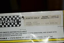 "NOS Terrycable Suzuki ""Whirlpull"" Throttle cable #4113 85'-90' LT230SF"