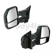 FOR 15-17 18 Ford F150 Pickup Towing Mirrors 8-PIN Power Heated LED Signal Pair