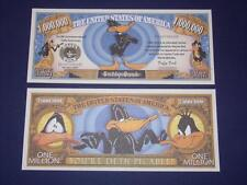 UNC. DAFFY DUCK  NOVELTY NOTE ONLY .25 SHIPPING FREE SHIP + FREE NOTES!