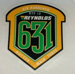 NOS REYNOLDS 631 FRAME DECAL,ORIGINAL NOT REPRODUCTION