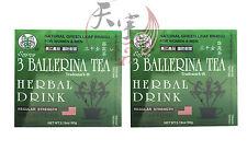 2 x 3 BALLERINA TEA SLIMMING TEA FOR DIET SLIM WEIGHT LOSS 30 TEA BAGS