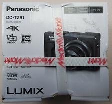 Panasonic LUMIX DC-TZ91 20.3MP Digitalkamera - Schwarz Kompakt Kamera
