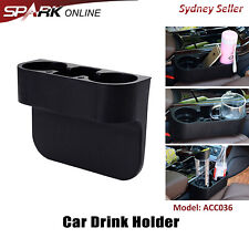 Car Seat Drink Cup Holder Travel Coffee Bottle Water Stand Food Cleanse Storage
