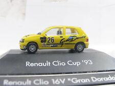 """Herpa Renault Clio 16V """"Gran Dorado"""" Cup ´93 OVP (L6754)"""