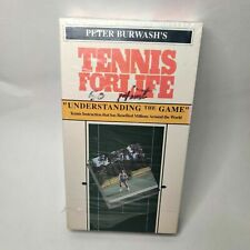 Tennis For Life - Peter Burwash - Understanding The Game - VHS - RARE!!!
