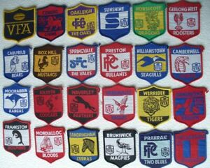 VFA LOGO & TEAMS 23 ** SEW ON PATCH / BADGE PLUS 23 SET OF CLUB STICKERS