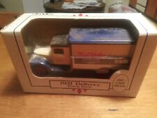 1991 Ertl di-cast metal 1931 Delivery Truck/Bank    Featuring True Value     NIB