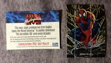 MARVEL MASTERPIECES 1992 SKYBOX PROTOTYPE PROMO CARD MINT CONDITION
