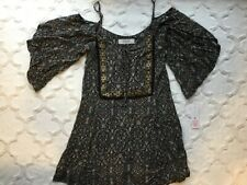 Lucy Love Women's Size Small Off the Shoulder Short Dress NWT