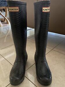Ladies Hunter Wellies Size 3