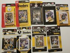 Rare Collection Of Pittsburgh Steelers Team Sets Ben Roethlisberger 2006 To 2014