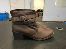 American Eagle Brown Ankle Boots Women's Size 8.5 B