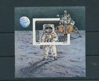 Poland 1989 Space Kosmos Imperf Sheet MNH (BKA 2200)