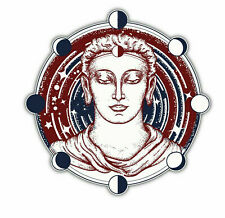 Buddha Face Sticker Vinyl Decal 4-1325