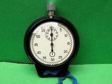 """Vintage URSS """"Agat"""" parada reloj ruso, mecánica en estuche de plástico"""