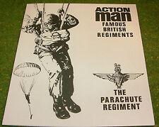 VINTAGE ACTION MAN 40th MANUAL LEAFLET THE PARACHUTE REGIMENT